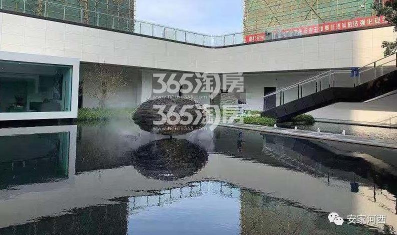 海玥花园项目售楼处内(3.31)
