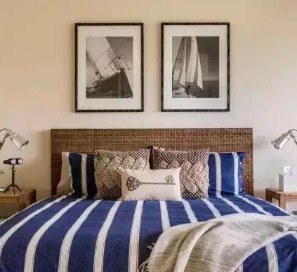简单而又有创意的床头背景墙,你家卧室也可以这样做