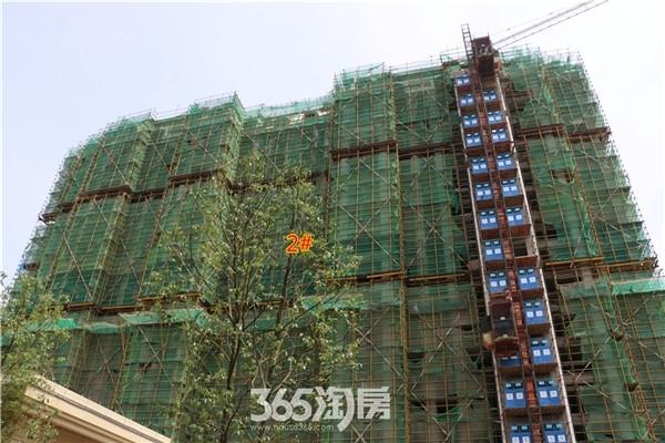 新华联梦想城2#工程进度(2016年7月摄)