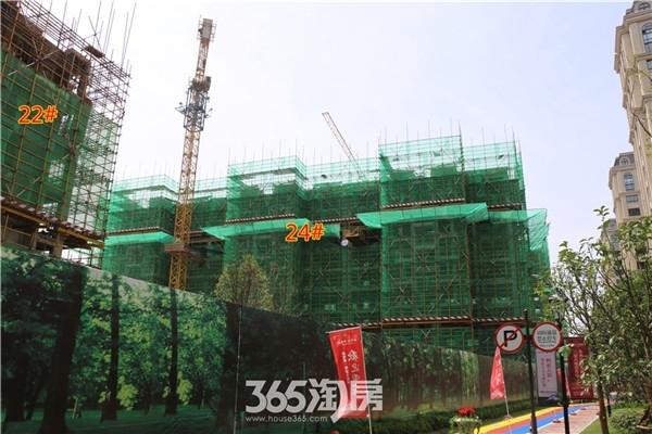 新华联梦想城22#、24#工程进度(2016年7月摄)