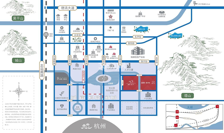 新城新都会交通图