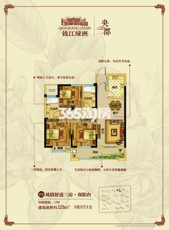钱江绿洲户型图