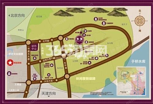 阳光城御园交通图