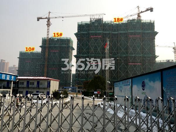 中锐星公元10#、15#、18#楼工程实景(2018.1摄)