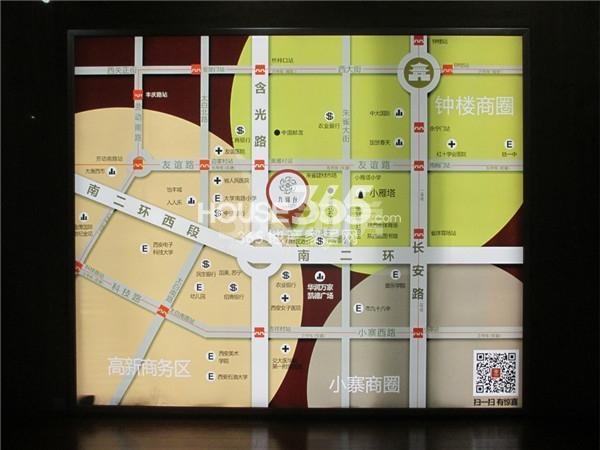 九锦1号交通图