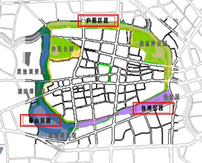 环城公园蜀山段假山将重建