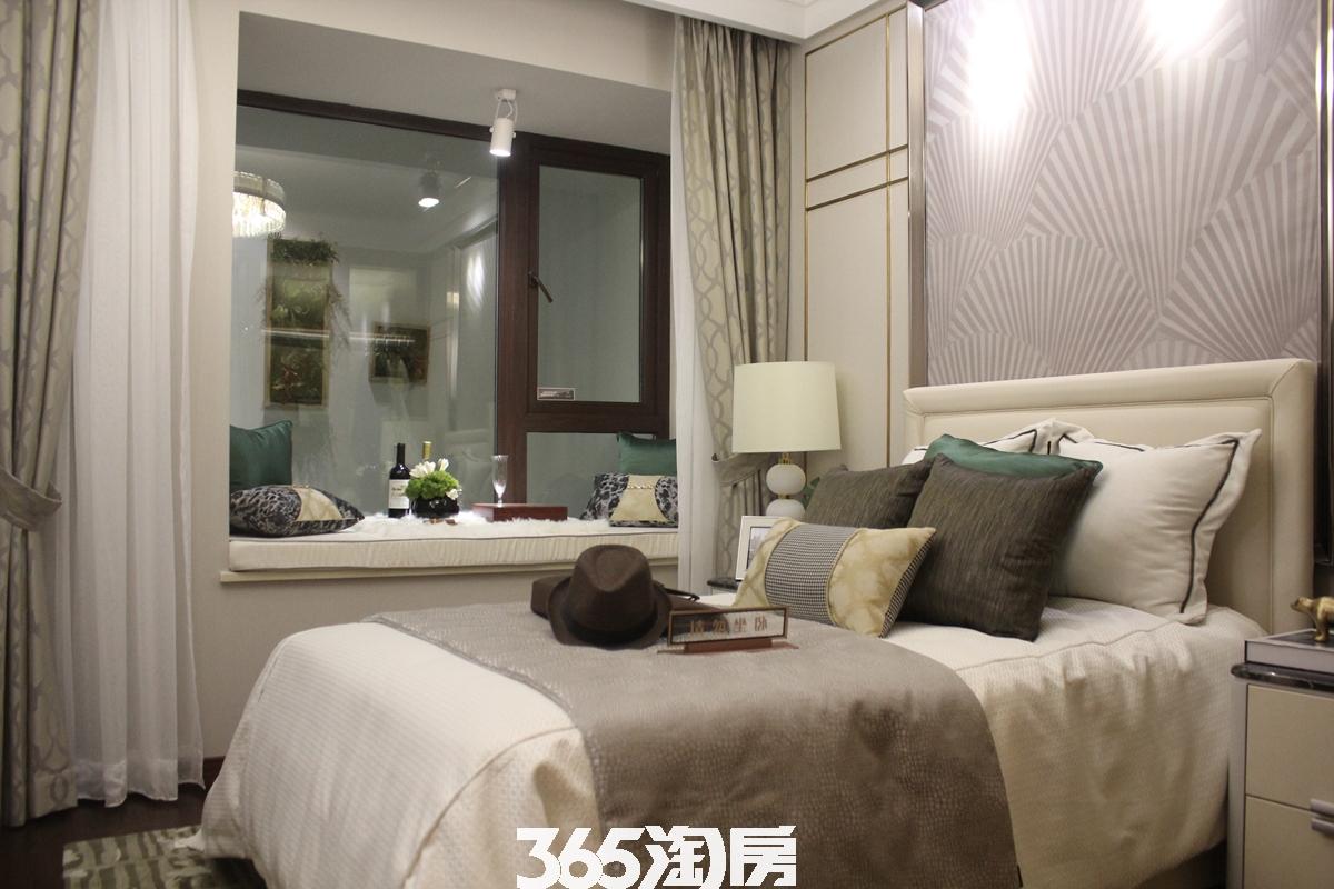 时光印象样板间卧室实景图(2018.2.1)