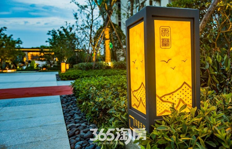 伟星天玺园林实景图(2018.6摄)