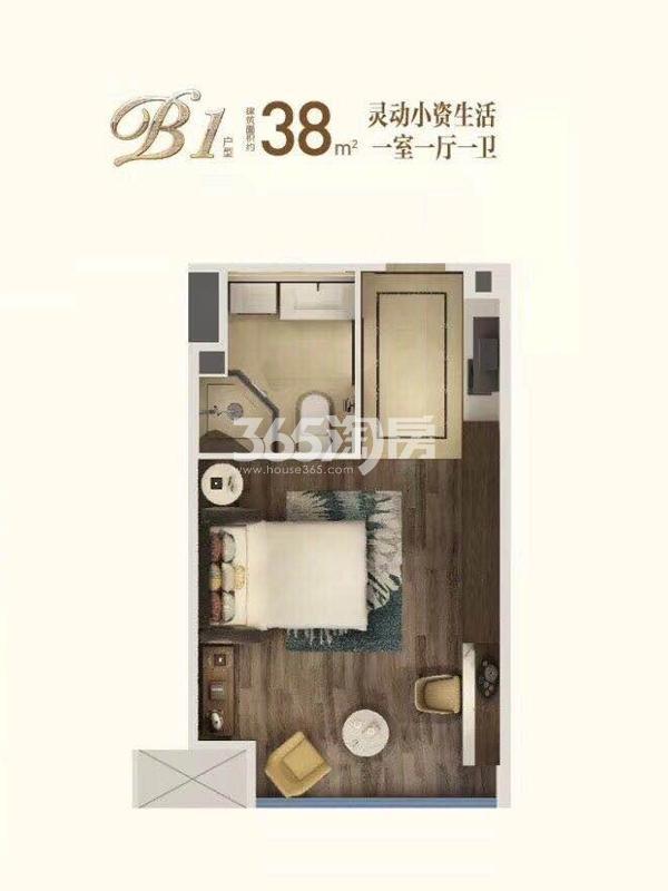 蓝钻公寓户型图