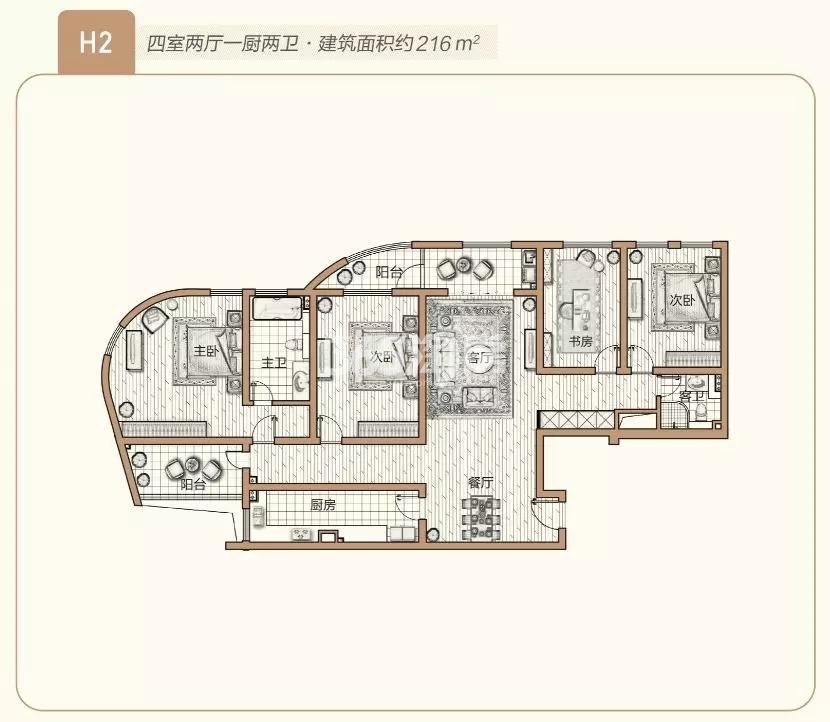 青奥村户型图