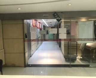 性价比高 新街口商圈 正对电梯口 办公隔断 含有部分家具