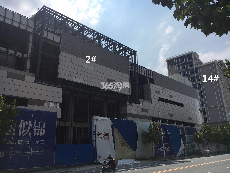 宝隆时代广场2、14号楼实景图(8.18)