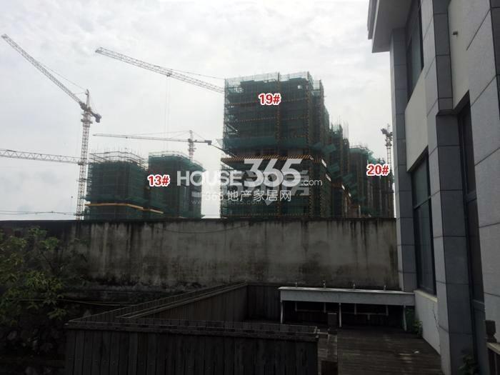 雅居乐伙伴项目13、19、20号楼施工进程图(2015.7)