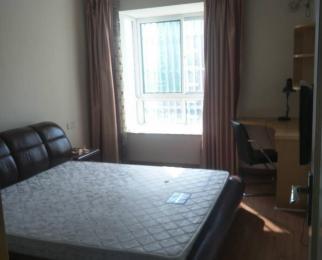 海亚当代2室2厅1卫92平米精装整租,家具家电齐全,拎