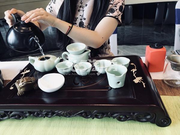 合景庐月湾茶道养生专场活动(2018.5.13)