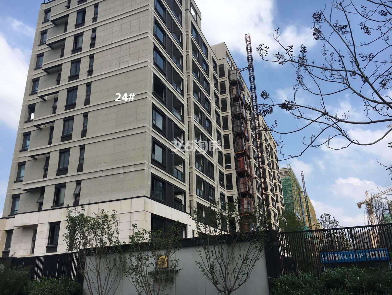 保利云禧24号楼小高层实景图(8.18)