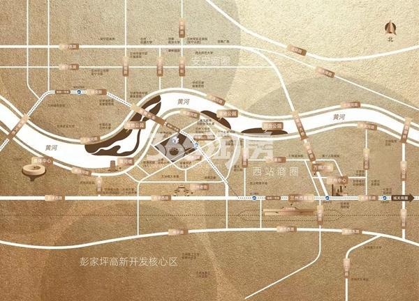 雅戈尔·时代之星交通图