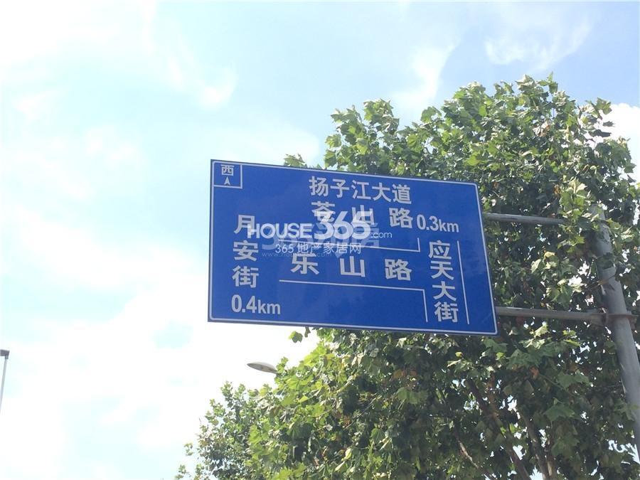北辰旭辉铂悦金陵交通图