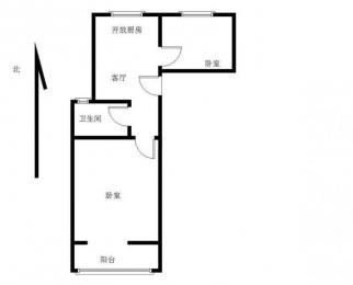 急卖:降低十万,急售汉中门地铁口,精装修全明小两房