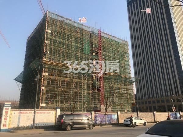 奥凯�吃酶�A座公寓楼及一期酒店实景(2018.3)