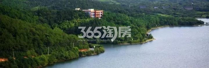 卧龙湖小镇风景实景图(12.21)