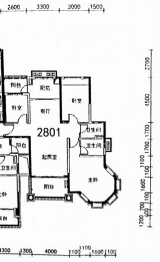 碧桂园城市花园 3室2厅2卫 131平米 产权房 精