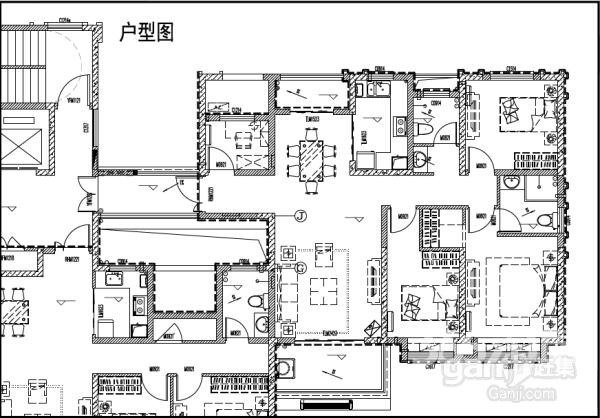 紫荆名都4室2厅2卫125㎡整租