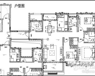紫荆名都4室2厅2卫125�O整租