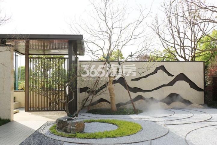 融创玖樟台售楼部实景图(2018.4.2)