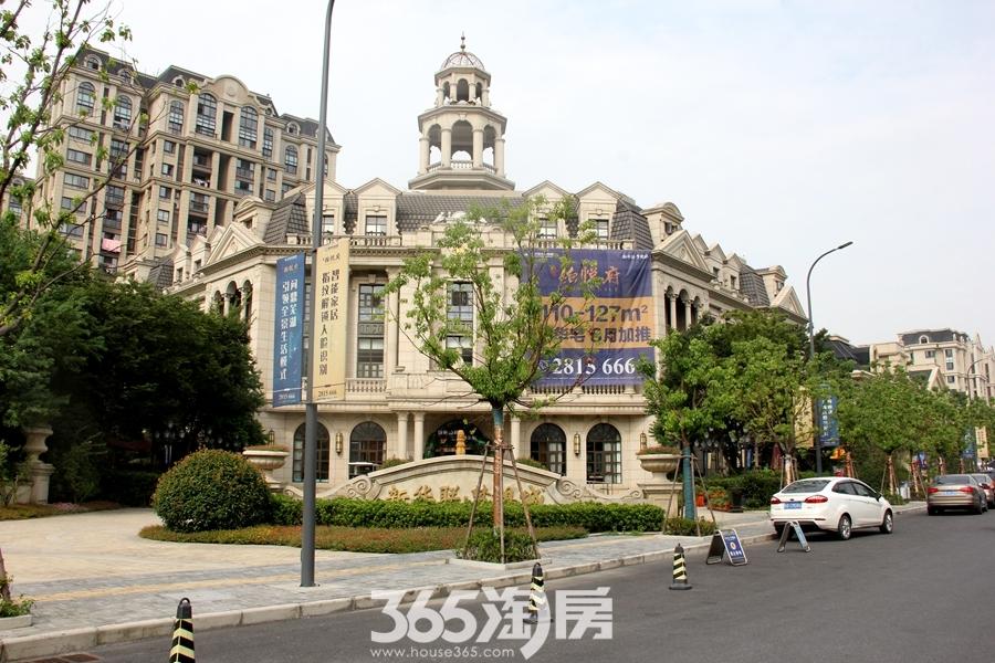 新华联梦想城营销中心实景图(2018.8摄)