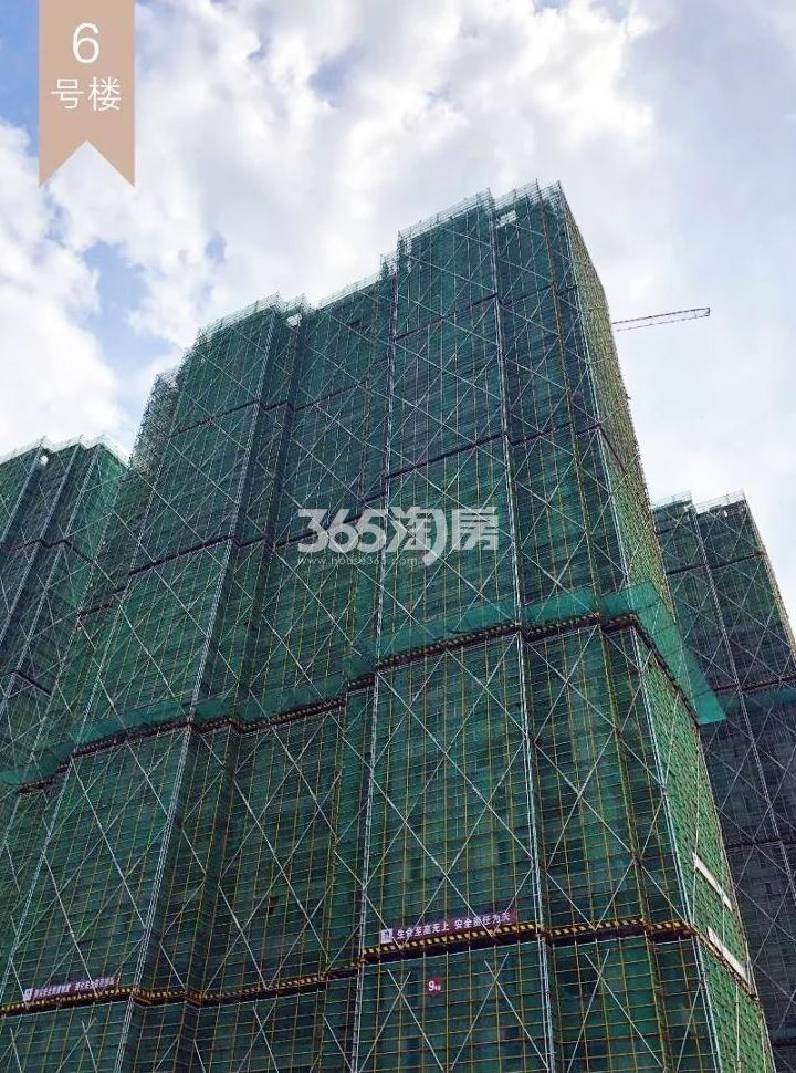 2018年10月融信公馆ARC高层6号楼(地名幢号)实景