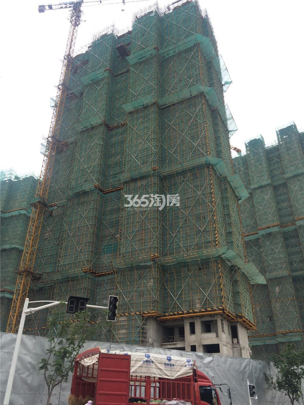 佳兆业城市广场三期16#实景图(8.24)