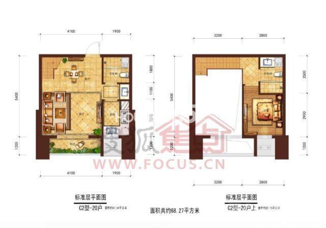 公寓小户型装修设计图展示