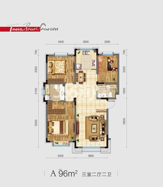太湖明珠花园项目户型图