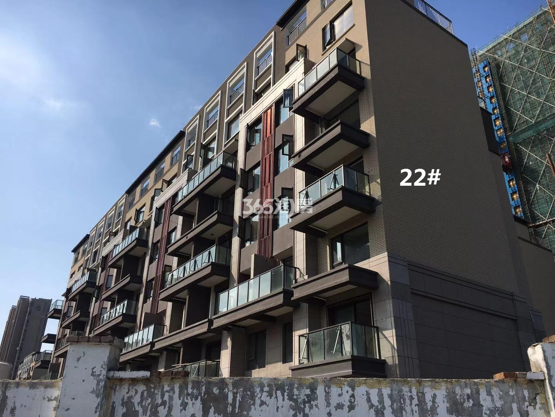 悦风华22号楼高层实景图(10.18)