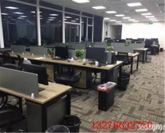 浦口华侨广场 整层出租精装修 正对电梯口 高端大气设备桌