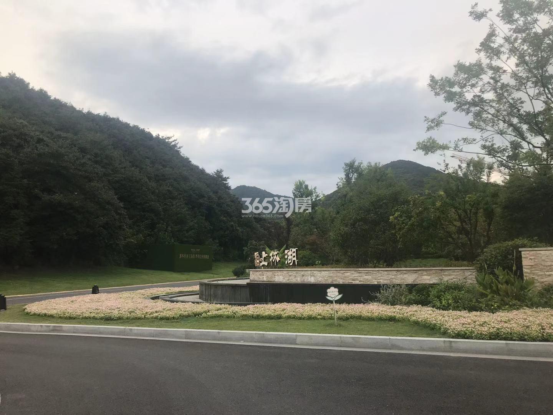 上林湖花园实景图