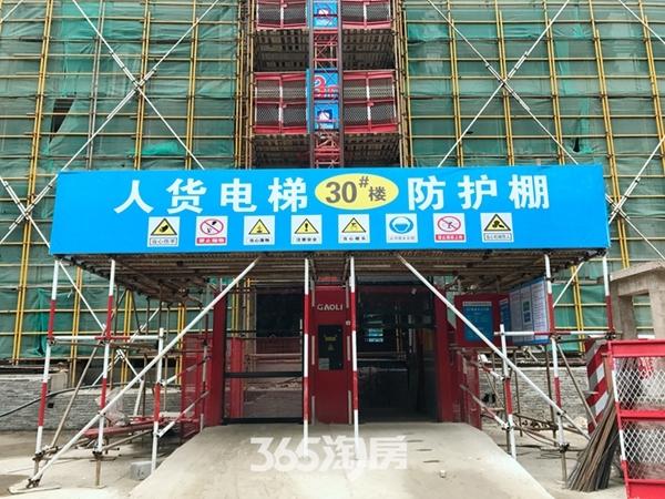 伟星玖璋台施工现场(2017.12摄)