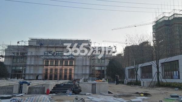 恒泰山水文园新售楼处在建实景(12.25)