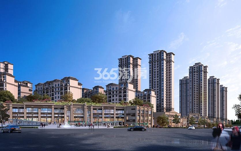 林达阳光鑫街鸟瞰图
