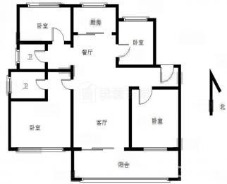 仙林湖 新城香悦澜山 精装修四房 地铁房 家电齐全 拎包入