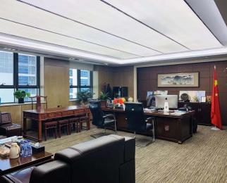 奥体 核心CBD 新地中心旁 现房豪华装修 全套办公家具 可