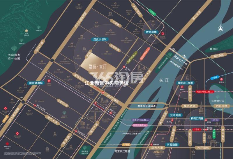 融侨誉江交通图