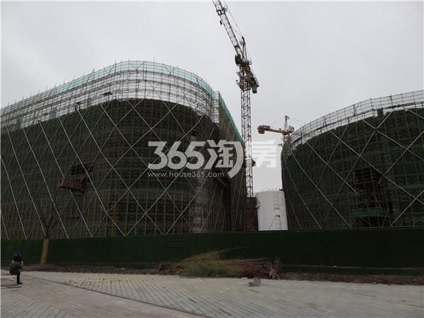 东方万汇城综合体在建实景图(12.17)