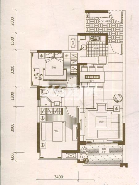 两室两厅一卫87