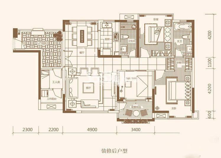 三室两厅两卫131