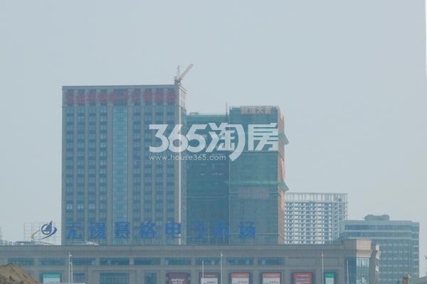 赛格公馆工程进度实景(2017.7)