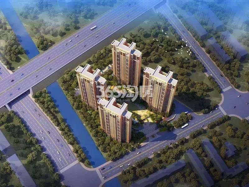 中建国熙台二期鸟瞰图