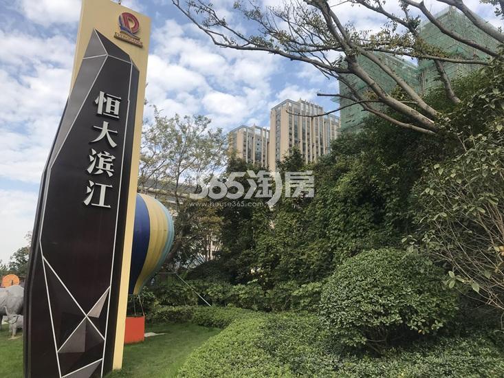恒大滨江项目实景图(12.25)