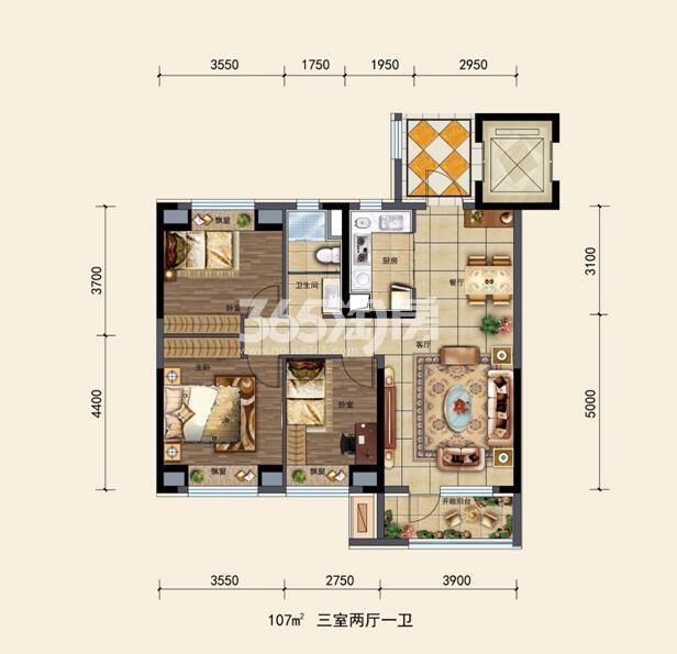碧桂园银亿大城印象项目户型图